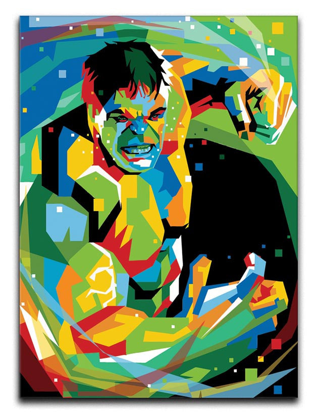 Hulk Pop Art Canvas Print or Poster