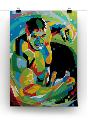 Hulk Print - Canvas Art Rocks - 2