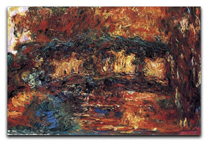 The Japanese Bridge 2 by Monet Canvas Print & Poster  - Canvas Art Rocks - 1