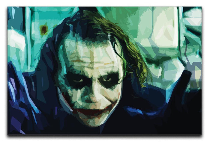 The Joker Canvas Print or Poster