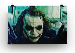 The Joker Print - Canvas Art Rocks - 2