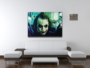 The Joker Print - Canvas Art Rocks - 4