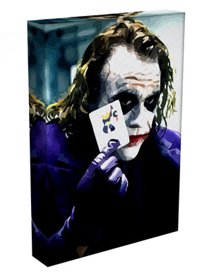 Heath Ledger The Joker Print - Canvas Art Rocks - 3