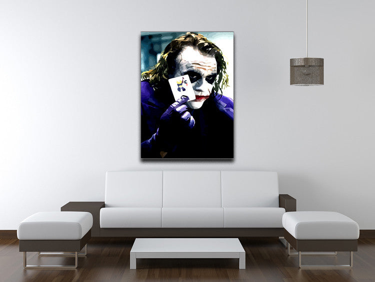 Heath Ledger The Joker Print - Canvas Art Rocks - 4