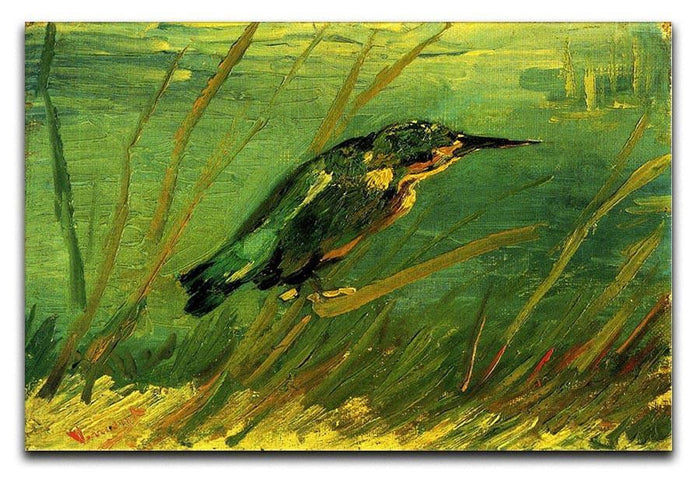 The Kingfisher by Van Gogh Canvas Print or Poster
