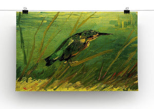 The Kingfisher by Van Gogh Canvas Print & Poster - Canvas Art Rocks - 2
