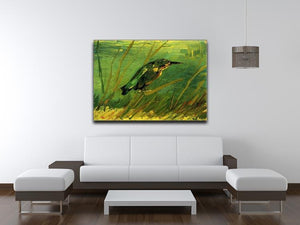 The Kingfisher by Van Gogh Canvas Print & Poster - Canvas Art Rocks - 4