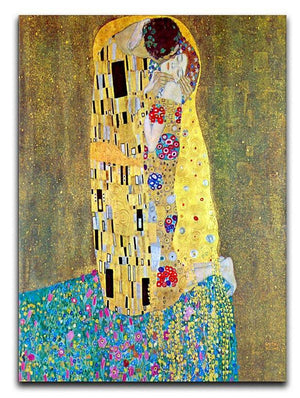 The Kiss 2 by Klimt Canvas Print or Poster  - Canvas Art Rocks - 1