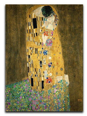 The Kiss by Klimt 2 Canvas Print or Poster  - Canvas Art Rocks - 1