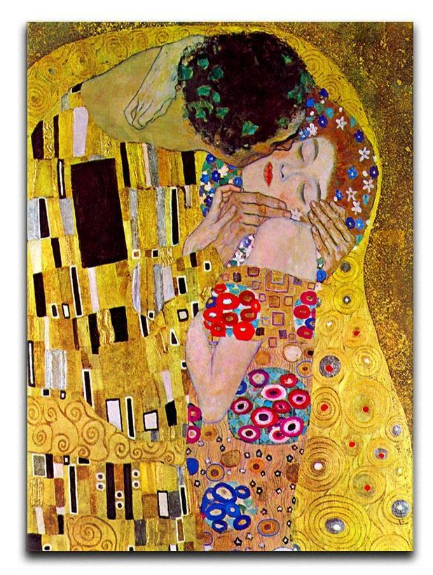 The Kiss by Klimt Canvas Print or Poster  - Canvas Art Rocks - 1