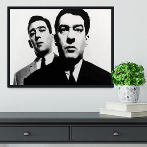 The Kray Twins Framed Print - Canvas Art Rocks - 2