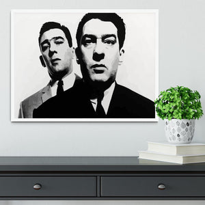 The Kray Twins Framed Print - Canvas Art Rocks -6