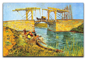 The Langlois Bridge at Arles by Van Gogh Canvas Print & Poster  - Canvas Art Rocks - 1