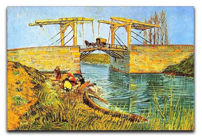 The Langlois Bridge at Arles by Van Gogh Canvas Print or Poster