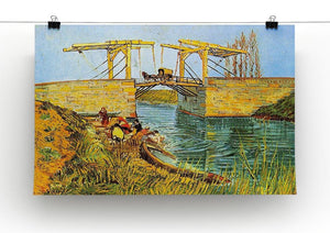 The Langlois Bridge at Arles by Van Gogh Canvas Print & Poster - Canvas Art Rocks - 2