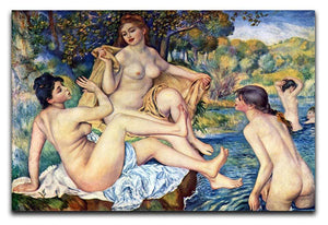 The Large Bathers by Renoir Canvas Print or Poster  - Canvas Art Rocks - 1