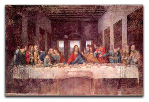 The Last Supper by Da Vinci Canvas Print & Poster  - Canvas Art Rocks - 1