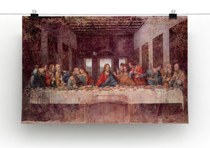 The Last Supper by Da Vinci Canvas Print & Poster - Canvas Art Rocks - 2
