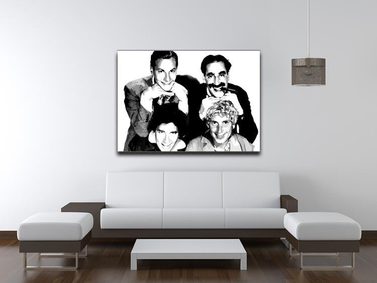 The Marx Brothers Canvas Print & Poster - Canvas Art Rocks