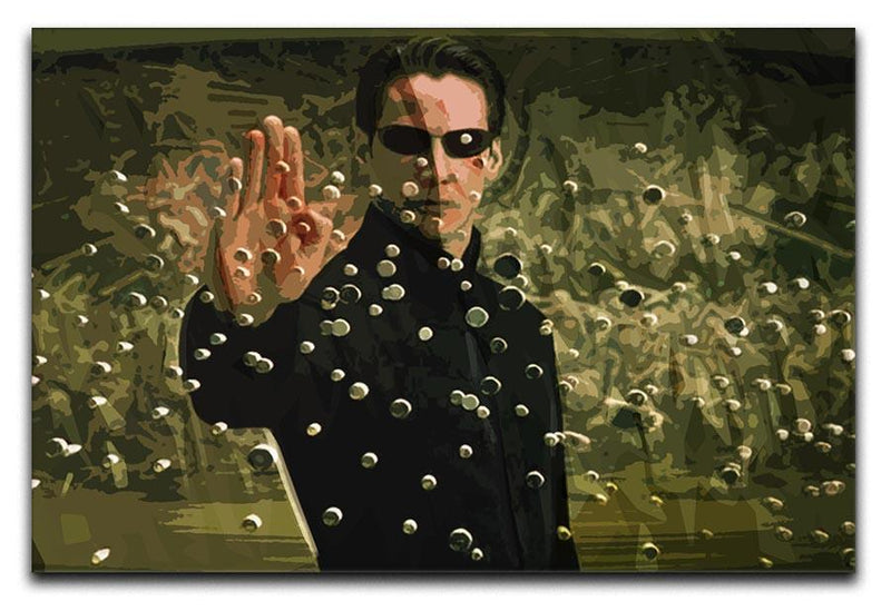 The Matrix Canvas Print or Poster  - Canvas Art Rocks - 1