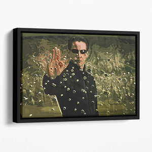 The Matrix Floating Framed Canvas