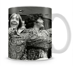 The Monkees playing around Mug - Canvas Art Rocks - 1