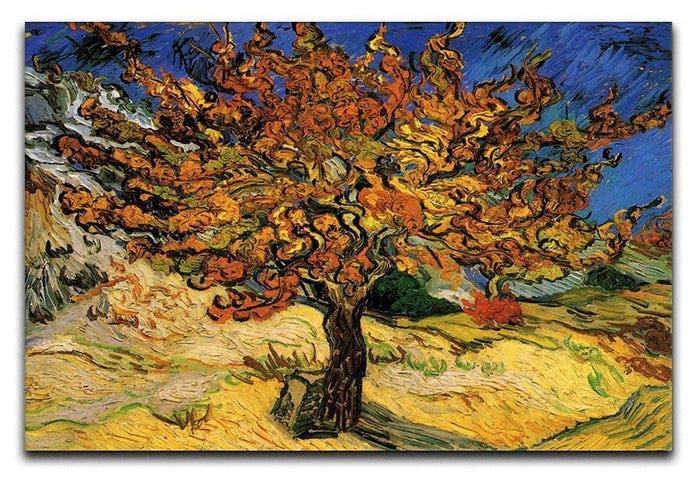 The Mulberry Tree by Van Gogh Canvas Print or Poster