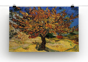 The Mulberry Tree by Van Gogh Canvas Print & Poster - Canvas Art Rocks - 2