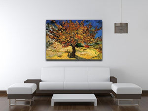 The Mulberry Tree by Van Gogh Canvas Print & Poster - Canvas Art Rocks - 4