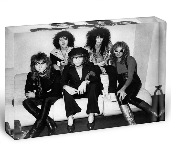 The New York Dolls Acrylic Block