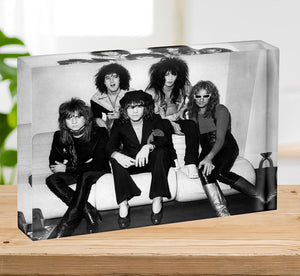The New York Dolls Acrylic Block - Canvas Art Rocks - 2