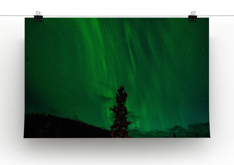 The Northern Lights Print - Canvas Art Rocks - 2