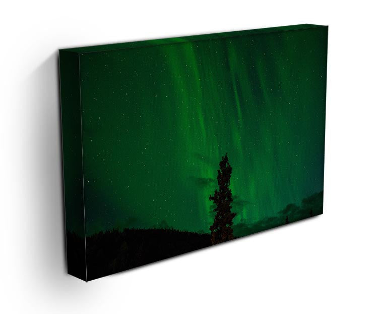 The Northern Lights Print - Canvas Art Rocks - 3