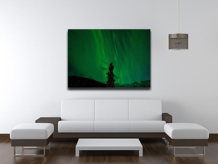 The Northern Lights Print - Canvas Art Rocks - 4