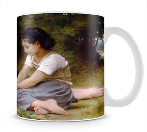 The Nut Gatherers By Bouguereau Mug - Canvas Art Rocks - 1