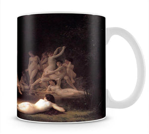 The Nymphaeum By Bouguereau Mug - Canvas Art Rocks - 1
