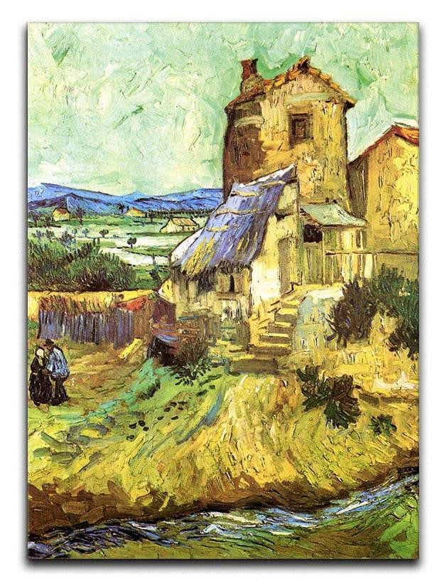 The Old Mill by Van Gogh Canvas Print or Poster
