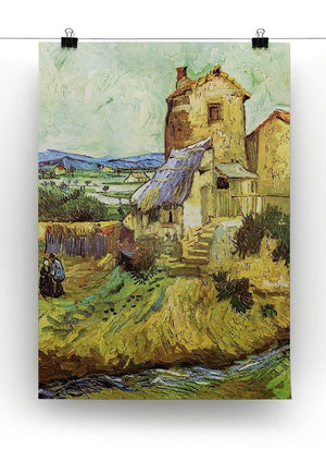 The Old Mill by Van Gogh Canvas Print & Poster - Canvas Art Rocks - 2