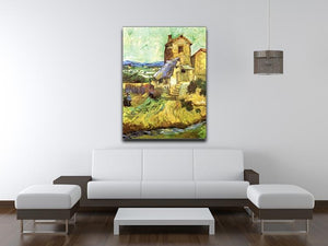 The Old Mill by Van Gogh Canvas Print & Poster - Canvas Art Rocks - 4