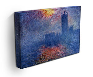The Parlaiment in London by Monet Canvas Print & Poster - Canvas Art Rocks - 3