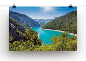 The Piva Canyon Canvas Print or Poster - Canvas Art Rocks - 2