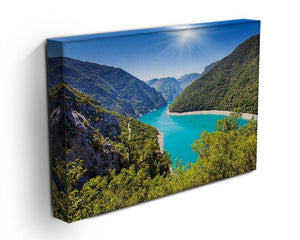 The Piva Canyon Canvas Print or Poster - Canvas Art Rocks - 3