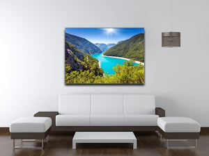 The Piva Canyon Canvas Print or Poster - Canvas Art Rocks - 4