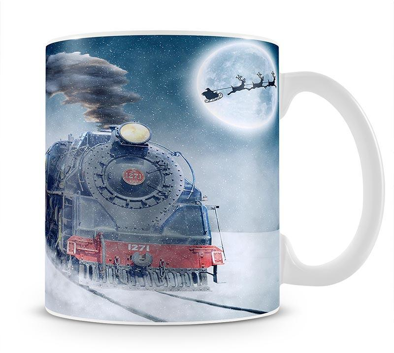 The Polar Express Version 2 Mug - Canvas Art Rocks - 1
