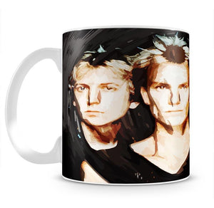 The Police Mug - Canvas Art Rocks - 2