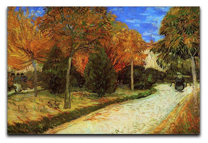 The Public Park at Arles by Van Gogh Canvas Print or Poster