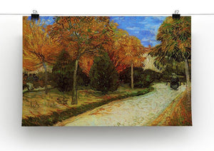 The Public Park at Arles by Van Gogh Canvas Print & Poster - Canvas Art Rocks - 2