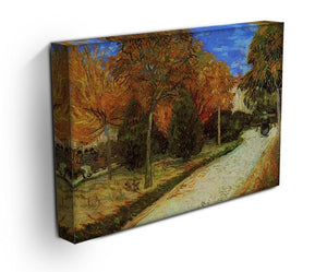 The Public Park at Arles by Van Gogh Canvas Print & Poster - Canvas Art Rocks - 3