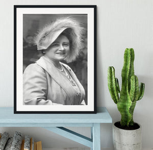The Queen Mother at Lord Roberts Memorial Workshops in Dundee Framed Print - Canvas Art Rocks - 1