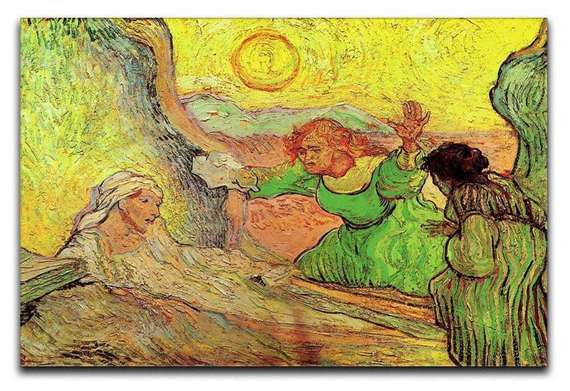 The Raising of Lazarus after Rembrandt by Van Gogh Canvas Print & Poster  - Canvas Art Rocks - 1